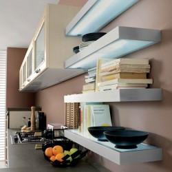 KLIP επιπλο κουζινας φωτιζομενα ραφια