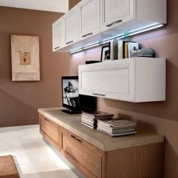 KLIP επιπλο κουζινας cillegio bianco επιπλοσυνθεση