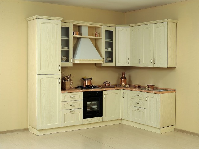 Προσφορα Επιπλα Κουζινας Netcucine με ηλεκτρικες συσκευες Σχεδιο B