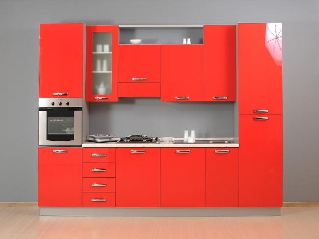 Προσφορα Επιπλα Κουζινας Netcucine με ηλεκτρικες συσκευες Σχεδιο Α