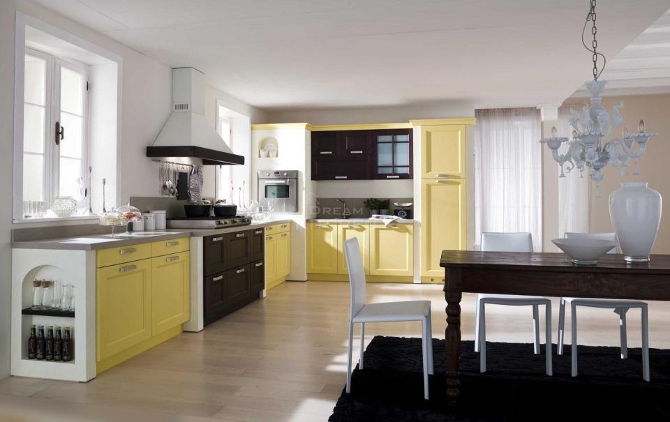 Επιπλο κουζινας Village Ημιμασιφ