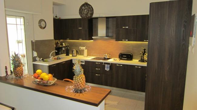 Κουζίνα Fiamma Tabacco Βαγγέλης και Άννα.Περιοχή Ν.Ηράκλειο Τιμή κουζίνας 3.700€