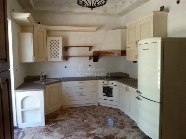 Κουζίνα Olivia Μασίφ στον Ασωπό Λακωνίας Τιμή κουζίνας 6500€
