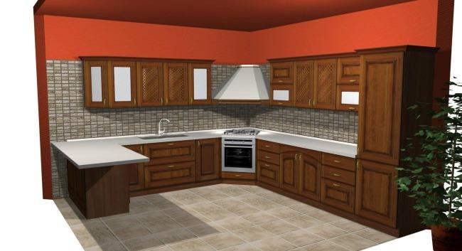 Σχέδιο Κουζίνας Μασίφ Olivia 6.000€