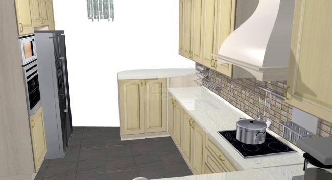 Σχέδιο Κουζίνας Μασίφ 6.700€