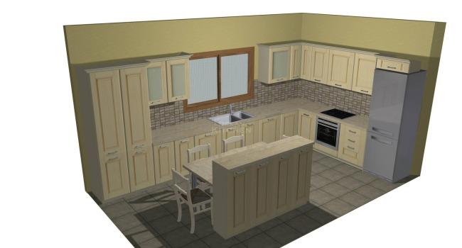 Σχέδιο Κουζίνας Μασίφ 7.100€