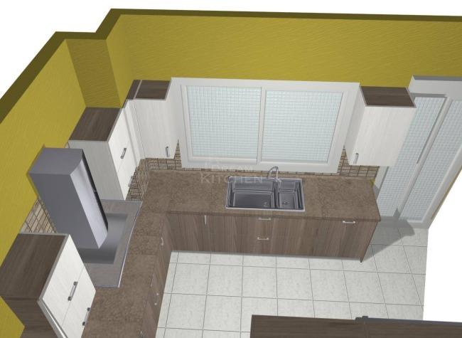 Σχέδιο Κουζίνας Βακελίτη Κάλυμνος 4.550€