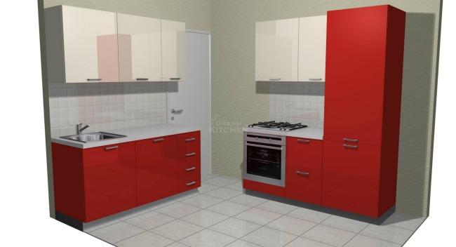 Σχέδιο Κουζίνας Πολυμερικό Αθήνα 2.460€