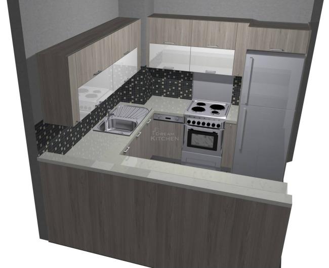 Σχέδιο Κουζίνας Βακελίτη Περιοχή Κυψέλη 3.444€