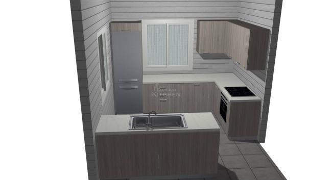 Σχέδιο Κουζίνας Βακελίτη Παρνασσός 3.070€