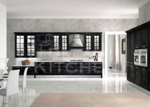 Ημιμασιφ-κουζινα-χρώμα-Nero-Silver