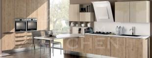 Κουζινα συνθετικής λακας με βακελιτη