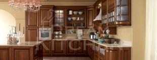Firenze ημιμασιφ Κουζίνα καρυδιά ημιγυαλιστερή 6