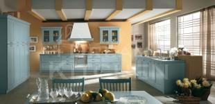 Κουζινα OlimpiaClassica-Azzurro