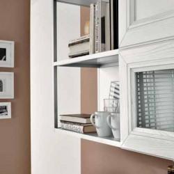 KLIP επιπλο κουζινας bianco ανοιχτα ραφια