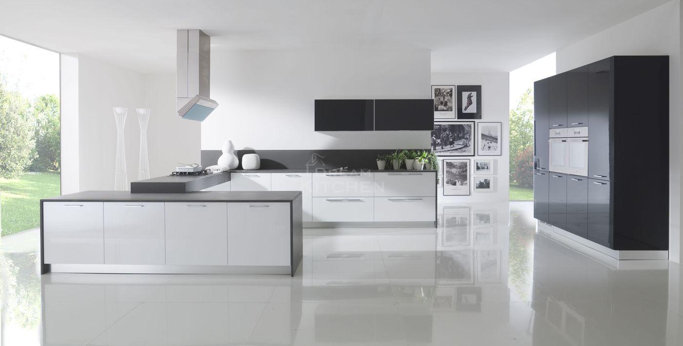 Pianna - Cucina grigio antracite ...