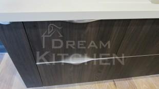 κατασκευή με διπλό πόμολο για πλυντήριο πιάτων