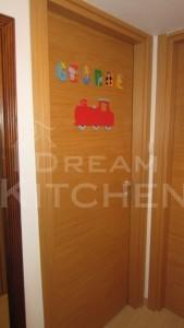 πόρτα καπλαμά με πλακάζ και κόντρα πλακέ
