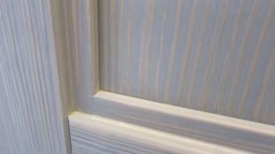 μπλε yellowpine ξυλινη πορτα λεπτομερειες