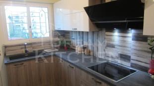 κουζίνα βακελίτη και λάκα λευκή 4