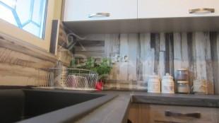 κουζίνα βακελίτη και λάκα λευκή 5