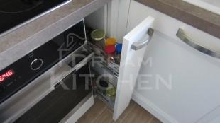 Κουζινα Πολυμερικο σε λευκο χρωματισμο 23