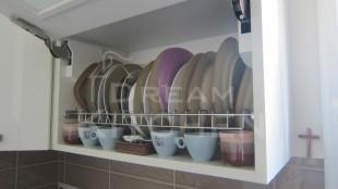 Κουζινα Πολυμερικο σε λευκο χρωματισμο 27