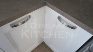 Κουζινα Πολυμερικο σε λευκο χρωματισμο 31