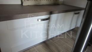 Κουζινα Πολυμερικο σε λευκο χρωματισμο 37
