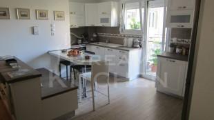 Κουζινα Πολυμερικο σε λευκο χρωματισμο 5