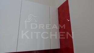 Επιπλα Κουζινας Λευκη Λακα 22mm 9