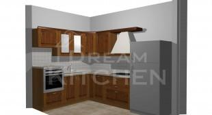 Σχεδιο Κουζινας Ημιμασιφ