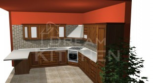 Σχεδιο Κουζινας Μασιφ 1
