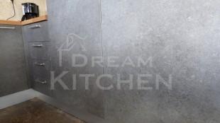 Κουζινα Τσιμεντενια με Μασιφ Παγκο 12