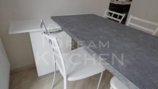 Επιπλα Κουζινας Λευκη Λακα 22mm 17