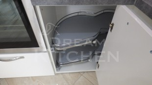 Επιπλα Κουζινας Λευκη Λακα 22mm 20