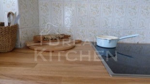 Κουζινα Τσιμεντενια με Μασιφ Παγκο 33