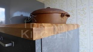 Κουζινα Τσιμεντενια με Μασιφ Παγκο 37
