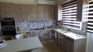 Επιπλα Κουζινας Βακελιτη με Ταμπλα σε καφέ αποχρωση 1