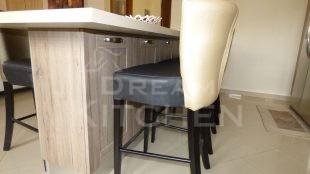 Επιπλα Κουζινας Βακελιτη με Ταμπλα σε καφέ αποχρωση 10