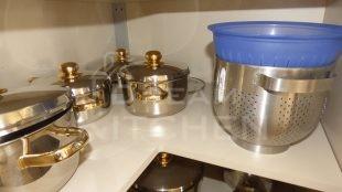Ραφι Επιπλα Κουζινας Βακελιτη με Ταμπλα σε καφέ αποχρωση 17