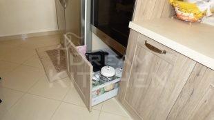 Βαγονετο Επιπλα Κουζινας Βακελιτη με Ταμπλα σε καφέ αποχρωση 26