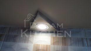 Φωτισμος LED Επιπλα Κουζινας Βακελιτη με Ταμπλα σε καφέ αποχρωση 30