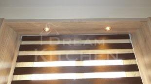 Φωτισμος LED Επιπλα Κουζινας Βακελιτη με Ταμπλα σε καφέ αποχρωση 31