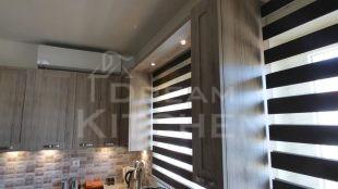 Φωτισμος LED Επιπλα Κουζινας Βακελιτη με Ταμπλα σε καφέ αποχρωση 32