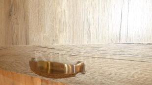 Πορτακι Βακελιτη Επιπλα Κουζινας Βακελιτη με Ταμπλα σε καφέ αποχρωση 36