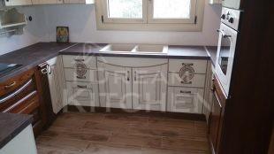 Επιπλα Κουζινας Country Eva Μασίφ με πατίνα 7