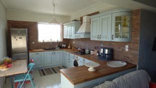 Επιπλα Κουζινας μοντελο EVA μασιφ ξυλο