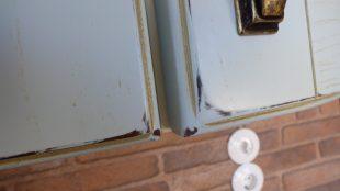πορτα κουζινας με ξεβγαλμα